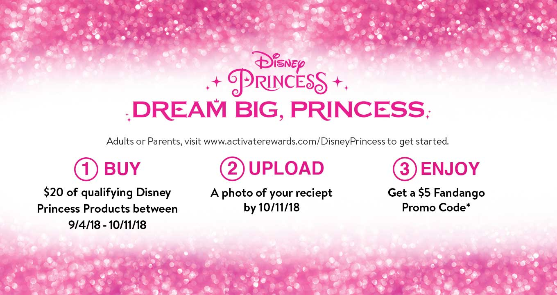 disney princess promo offer