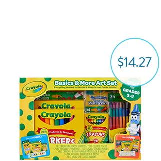 Crayola Basics Art Set