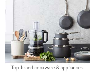 Cookware and appliances
