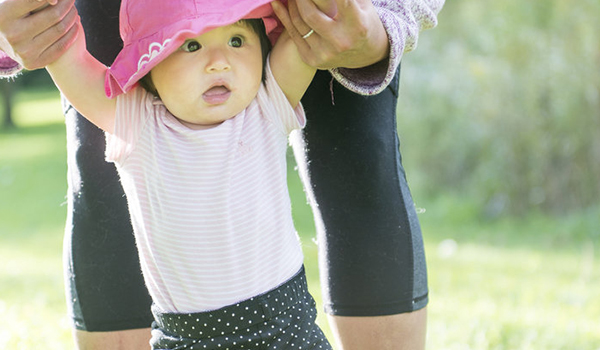 Growing from baby to toddler