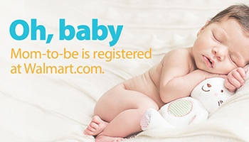 how to create your walmart baby registry or wedding registry