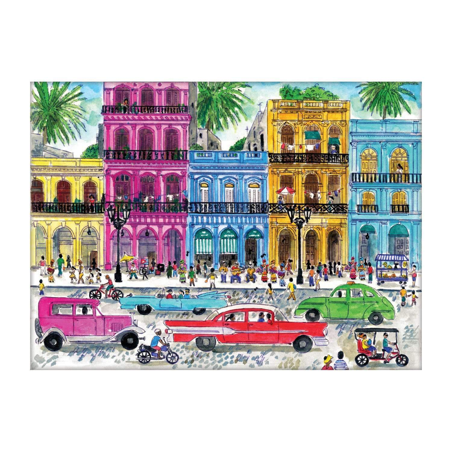 Puzzles for Adults Beauty and Warm Gift Teens and Family Seniors 2 Sets 500 Pieces Jigsaw Puzzles Intellectual Landscape Puzzles Educational Jigsaws