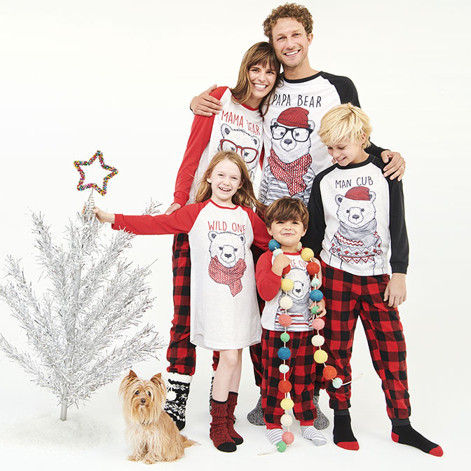 05a476a7c3 Shop family bears PJs collection.