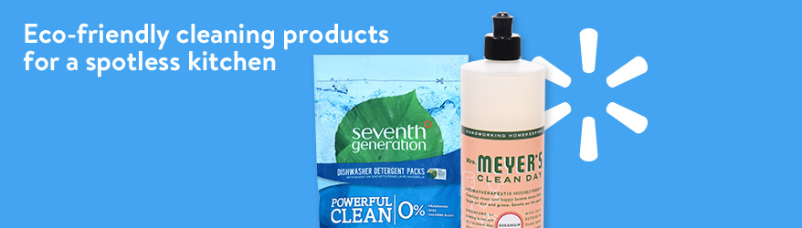 Shop eco-friendly cleaning products