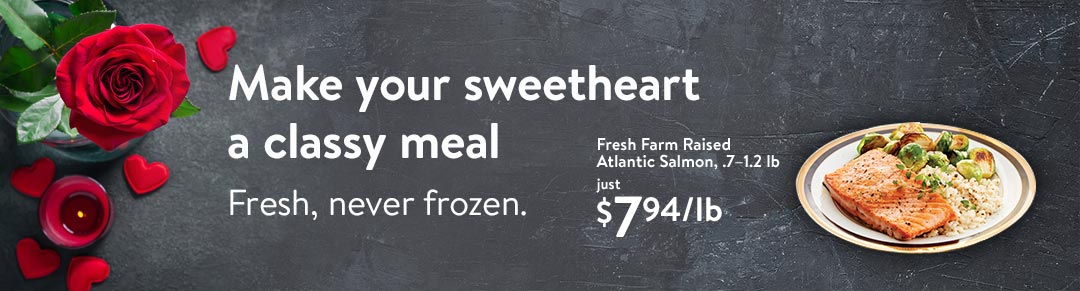 Find The Ingredients For A Valentines Meal At Walmart