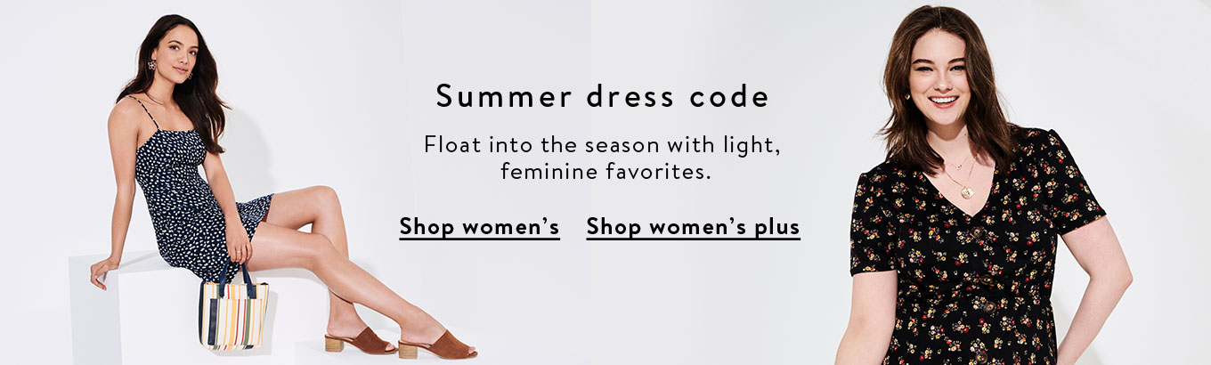 e7b68f9ef70912 Float into the season with light, feminine favorites in women's and
