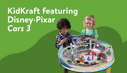 KidKraft featuring Disney-Pixar Cars 3
