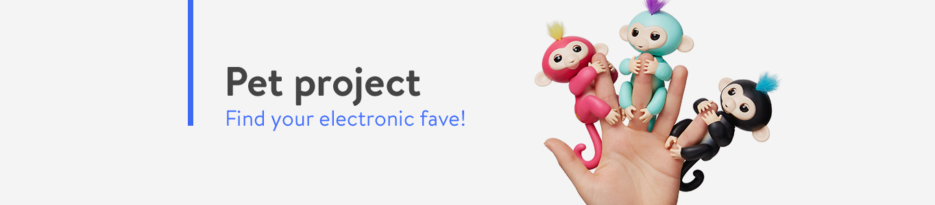 Find your favorite electronic pets.