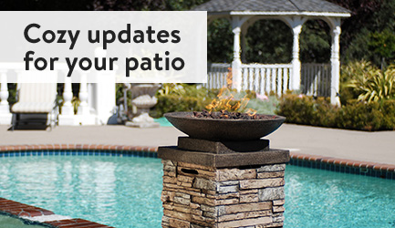 Cozy updates for your patio