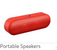 Portable wireless and bluetooth speakers