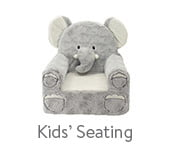 Sweet Seats Adorable Elephant Children's Chair