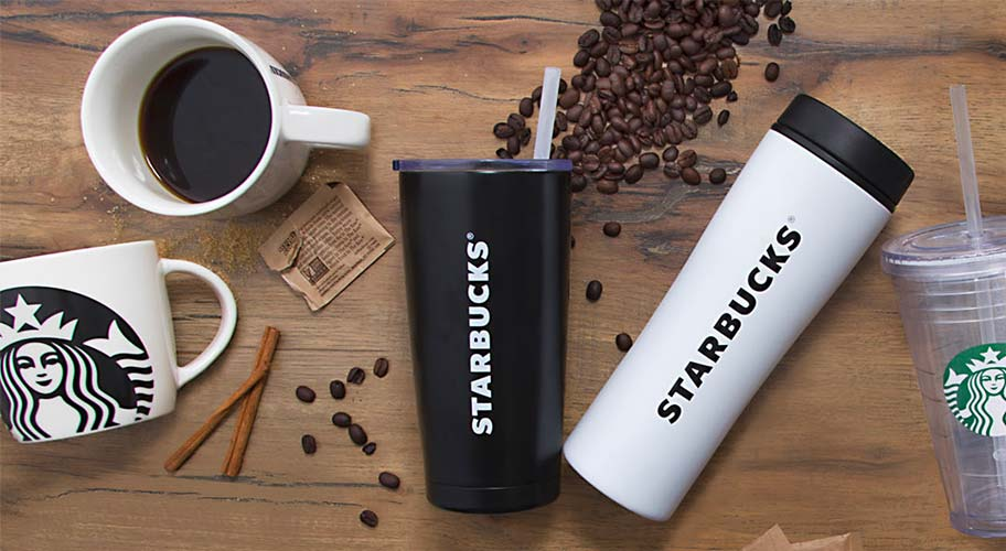 Just in, from Starbucks. Outside of a Starbucks cafe, the only place you can buy their reusable cups & mugs in packs is here at Walmart. And, we've got them for less. Shop their unmistakable cups, mugs & tumblers, plus those jolly holiday styles too.