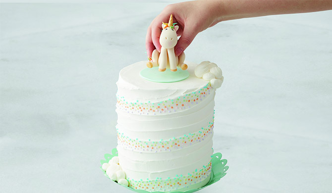 How To Create A Whimsical Unicorn Cake Walmart Com