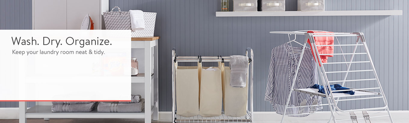 Laundry Room Storage Org