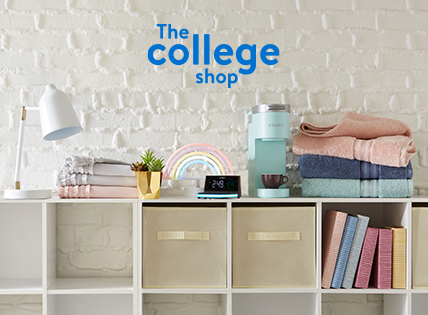 Set up for homework—or make your home work. Room essentials for college.