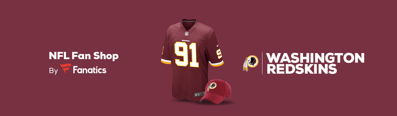 98d8c8ce Washington Redskins Team Shop - Walmart.com
