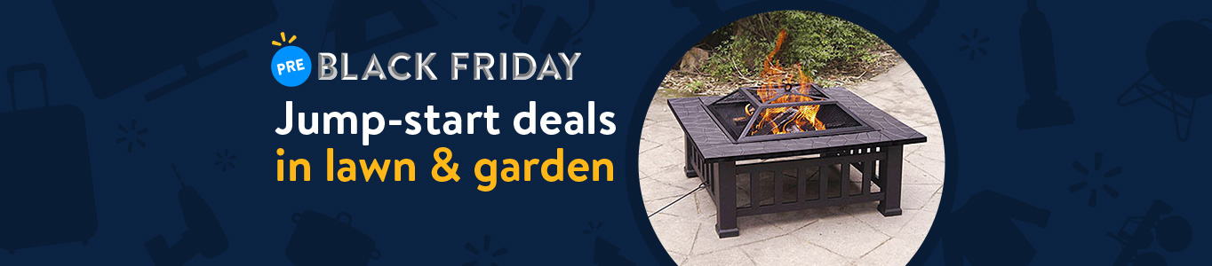 Shop Pre-Black Friday deals in lawn and garden!