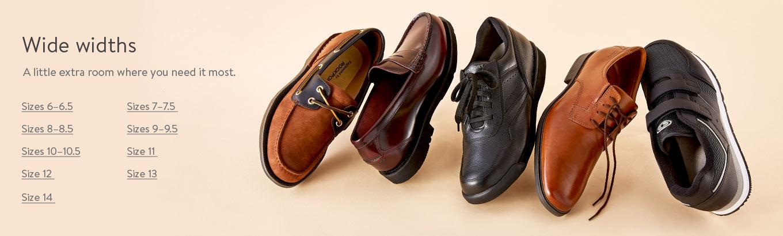 Mens Wide Shoes - Walmart.com