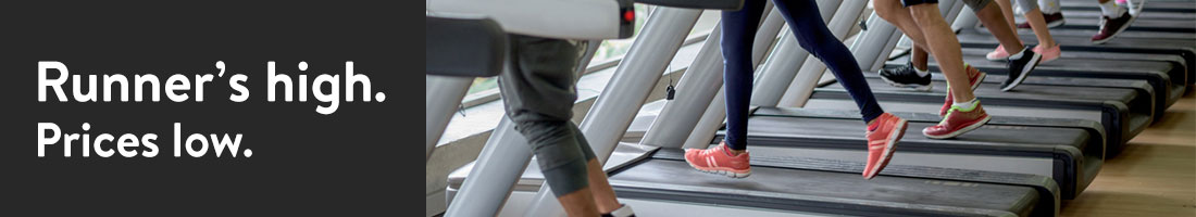 SG Treadmills Shelf Header