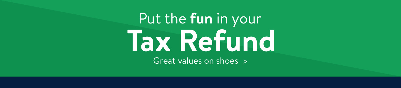 Tax Refund Shoes
