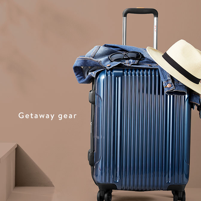 0d544a32c7a3 Luggage essentials for your spring getaways