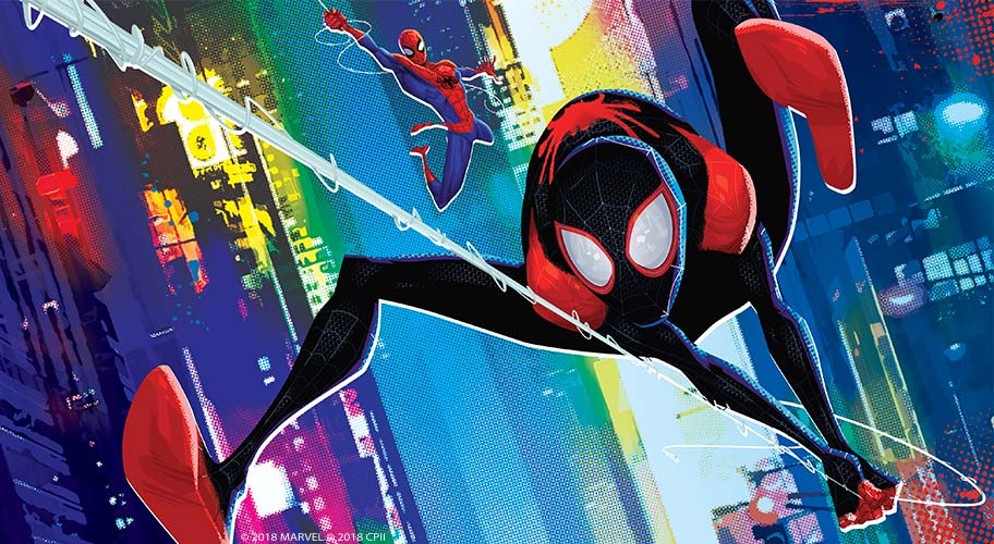 Spider Mans Ready To Leap Into Action Get Behind A Superhero With Real Sticking