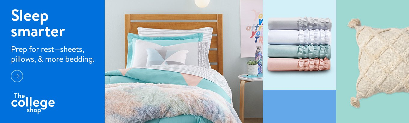 Sleep smarter. Prep for rest—sheets, pillows, and more bedding. Shop now.