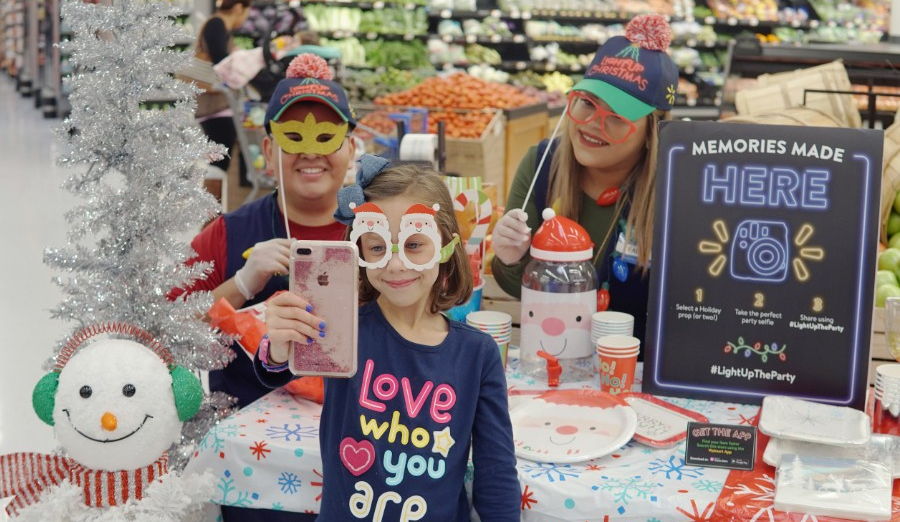 Walmart's Light Up the Party Event