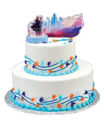 Licensed Frozen 2 cake