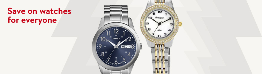 Save on watches for everyone