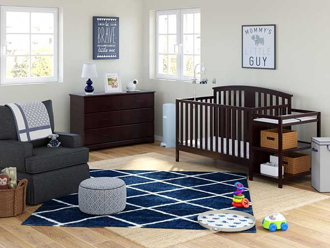 Traditional Blue Nursery Collection