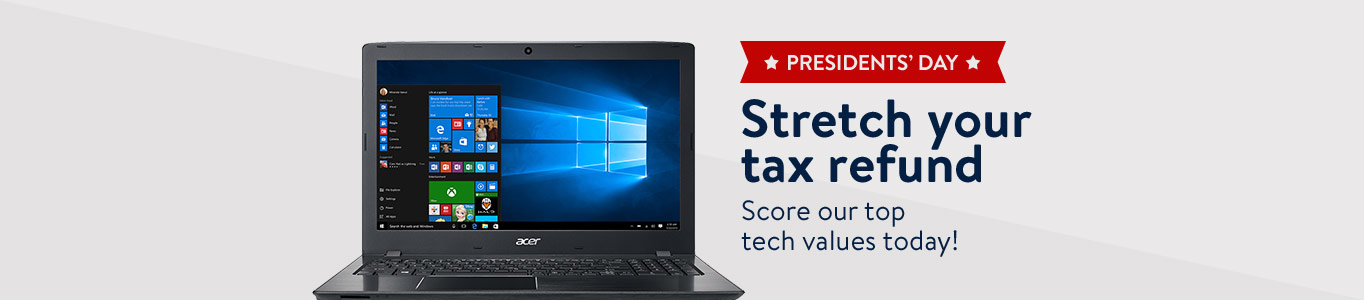 Stretch your tax refund! Score our top tech values.