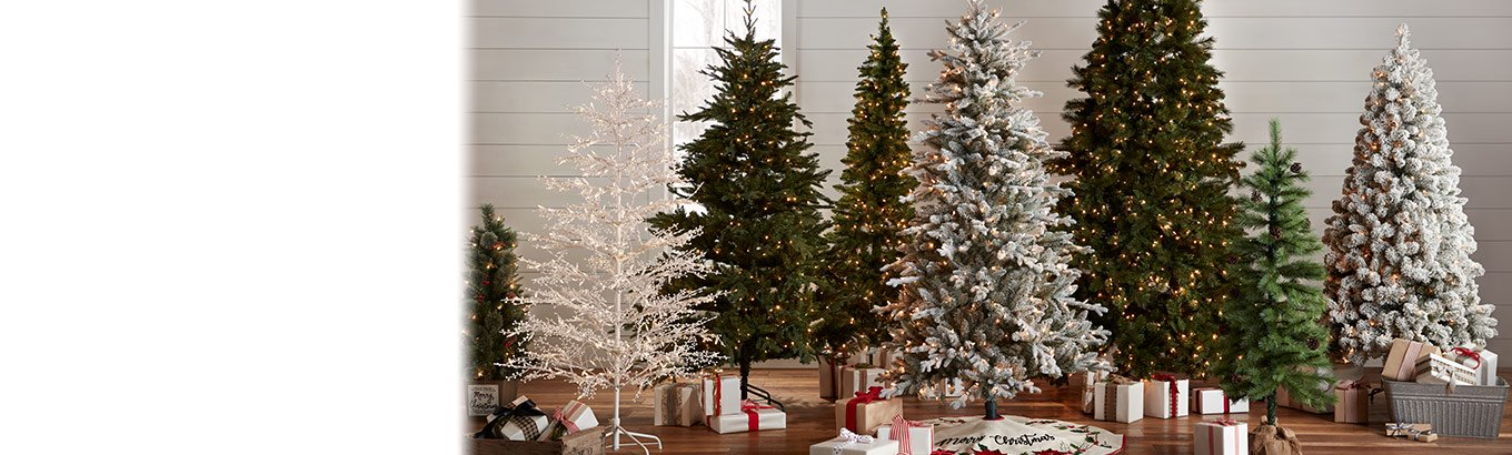 Deck the home. O Christmas tree. Festive centerpieces in a variety of sizes, shapes, and more.