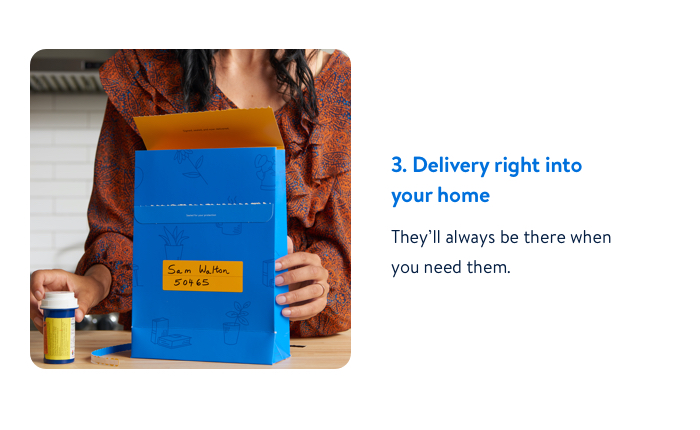 Delivery right into your home