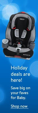 Shop holiday deals on baby favorites