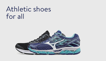 Athletic shoes for all
