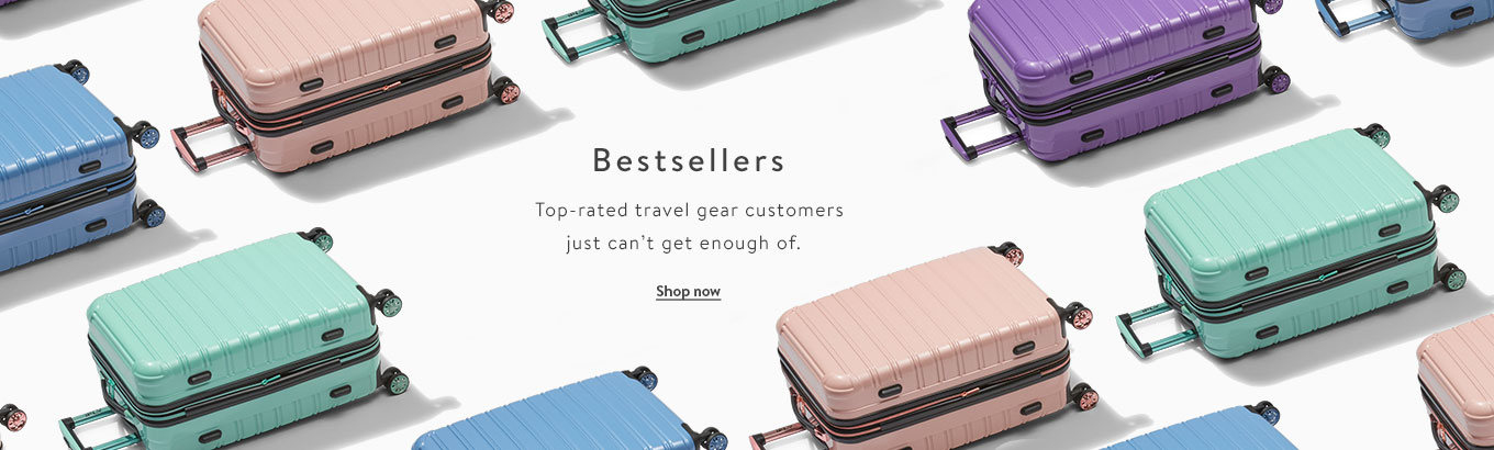 Best Sellers: Top-rated travel gear customers just can't get enough of. Shop now.