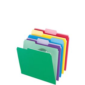 File Folders Writing Supplies