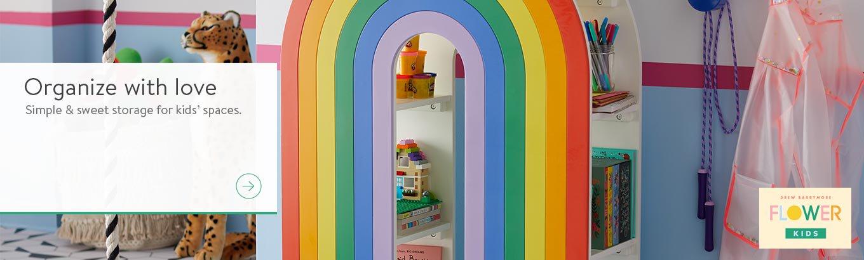 Drew Barrymore Flower Kids Storage - Walmart.com