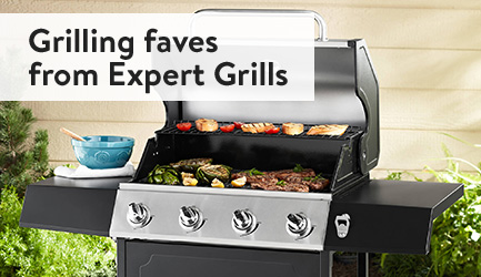 Grilling faves from Expert Grills