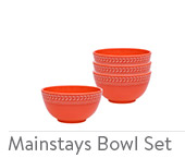 Mainstays Bowl Set