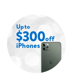 Up to $300 off iPhone