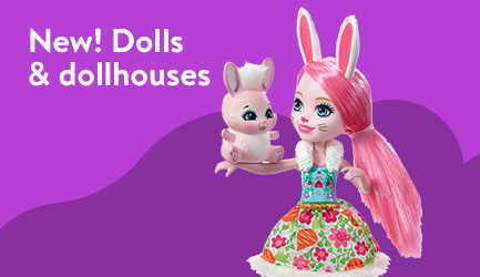 New dolls and dollhouses for fall