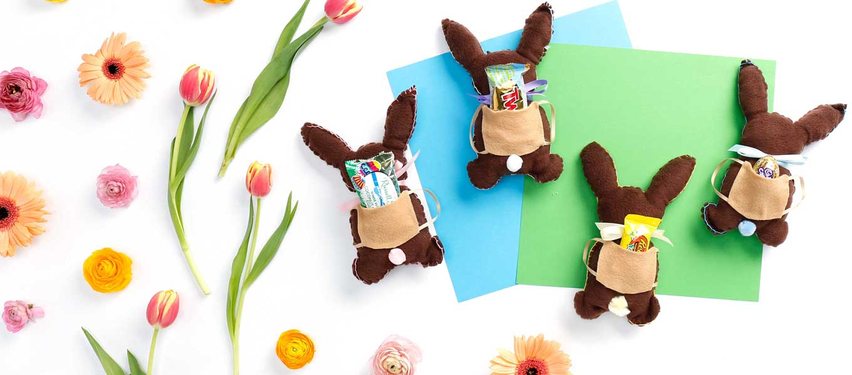 Stuffed Chocolate Bunny How-To