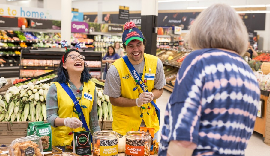 Walmart's in-store holiday events