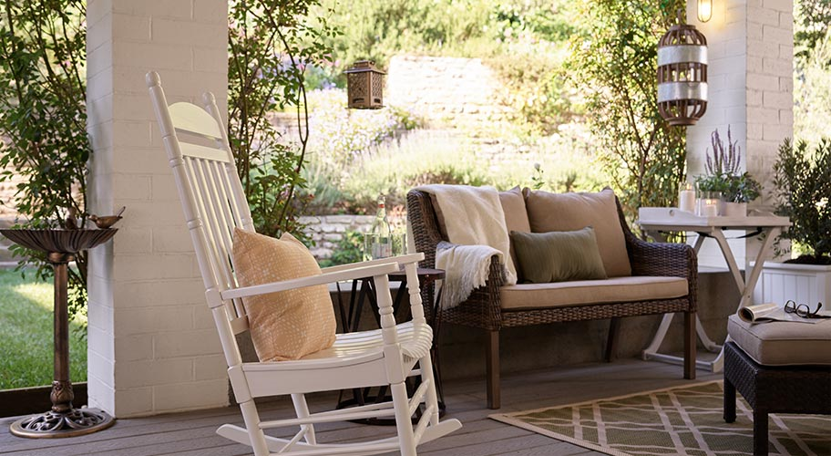 Make Your Outdoor Entry As Comfy And Inviting The Rest Of