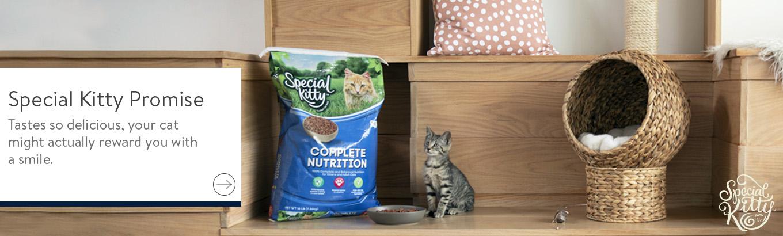 Special Kitty Cat Food - Walmart com