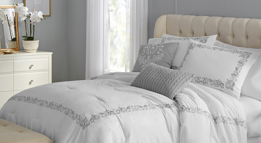 Five-Star Slumber. Make your bed a relaxation destination with our premium quality Hotel Style bedding collection