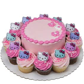 Pink Hello Kitty Party Combo