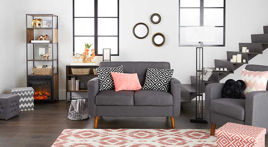 Mainstays style. It's the stylish, affordable solution to everyday decorating needs.
